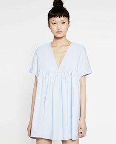 LOW-CUT JUMPSUIT DRESS-View All-DRESSES-WOMAN | ZARA United States