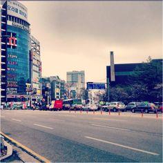 A cloudy day in Yawoori, Cheonan, South Korea. My new home!