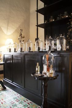 Eclectic Retail Store Design - Scented candles on display in Coqui Coqui, Valladolid, Mexico.