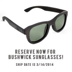 The Bushwick Polarized Sunglasses! Reserve your copy now! #glasses #Swag #dope #nyc