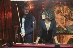 Still of Jude Law and Nia Long in Alfie