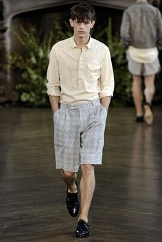 Billy Reid Spring 2015 Menswear - Collection - Gallery - Look 1 - Style.com