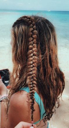 hair inspo VSCO - Create, discover, and connect Summer Hairstyles, Messy Hairstyles, Pretty Hairstyles, Homecoming Hairstyles, Cute Hairstyles For Teens, Wedding Hairstyles, Hair Inspo, Hair Inspiration, Undone Look