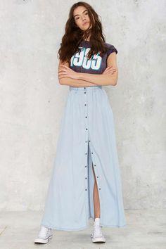 Bohemian You Maxi Skirt | Shop Clothes at Nasty Gal!