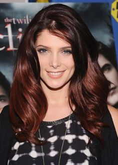 color blocked hair brown | For darker skin use tones such as a rich red violet, chocolate cherry ...