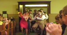 The Most Epic Wedding Entrance Of All Time. Love, love, love this! Especially the whole wedding party in shades. :)
