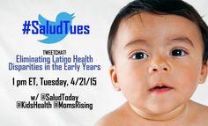 #SaludTues Tweetchat 4/21/15 co-hosts @SaludToday @KidsHealth @MomsRising