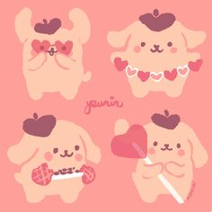 moodboard full of vaporewave and neon vibes Kawaii Drawings, Cute Drawings, Pretty Art, Cute Art, Sanrio, Cute Characters, Cute Illustration, Aesthetic Art, Cute Cartoon