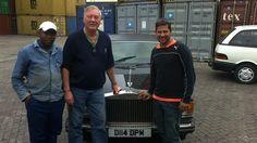 Mr Wilson shares his joy for the Jankel @rollsroycecars #MyOctane Reality Motoring Show myoctane.tv