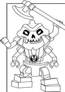 Perfect Ninjago Lord Garmadon Coloring