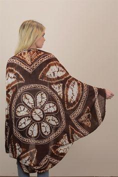 Bohemian Tie Dye Kimono