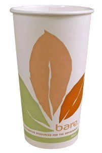Solo 412PLN Bare 12 oz. PLA Hot Cup - Compostable 50 / Pack by Solo Bare. $5.49. Made from 100% renewable resources. Compostable. Solo 412PLN Bare 12 oz. PLA Hot Cup - Compostable 50 / Pack
