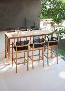mesa alta terraza | Cocina | Pinterest