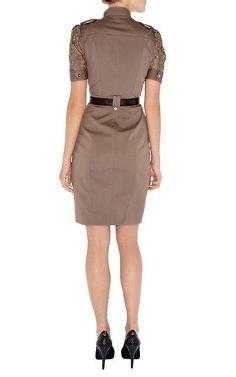 5efad694c38 Платье с кружевом коричневое Карен Миллен Karen Millen 16 разм - Основная  одежда во Владивостоке