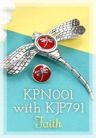 Kameleon Jewelry Dragonfly Pin KPN001 Retired 40% off