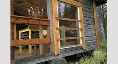 IDEA 2011 -kilpailun voittaja: Huvimaja vanhoista hirsistä Home Fashion, Cabin, House Styles, Home Decor, Decoration Home, Room Decor, Cabins, Cottage, Home Interior Design