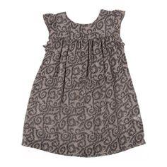 Lotus dress - Taupe brown