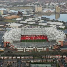 Old Trafford. Manchester, London, England