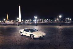 BMW M1 en Paris.
