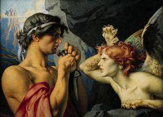 François-Emile Ehrmann, Oedipe and the Sphinx, 1903
