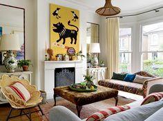 Top Interior Designers, Interior Design Companies, Interior Design Studio, Living Room Green, Living Room On A Budget, Living Spaces, Living Rooms, Vanessa Bell, Elle Decor