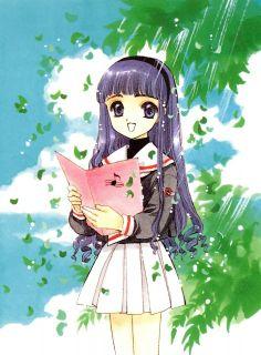 Tomoyo Daidouji from Cardcaptor Sakura.