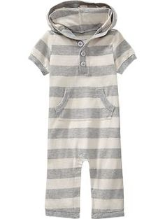 Hooded One-Pieces for Baby | Old Navy.... looks perfect for Fall