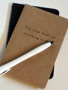 Snarky Hemingway Notebook (Moleskine)