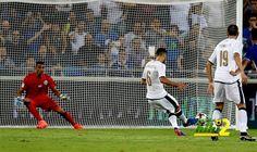 رقم رائع لايطاليا خلال الشوط الاول من مباراة اسرائيل