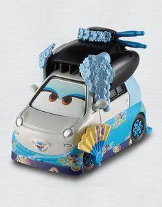 Shigeko - Pixar CARS Tokyo Party - diecast car toy