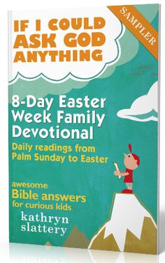 Holy Week Activities and FREE Devotional!