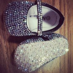 Blingy baby shoes<3