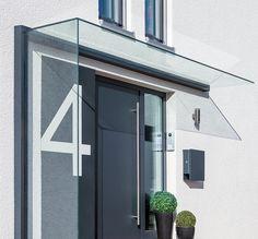 Das Duravento ist Vordach und Windschutz in einem. So ist Ihr Hauseingang vollkommen geschützt