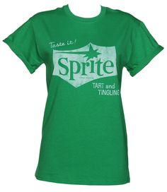 Ladies Sprite Retro Logo Rolled