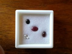 Mixed Lots - Ruby, Garnet, Sapphire and Silver Topaz mixed lot total 2.615cts for sale in Graskop (ID:162988354)