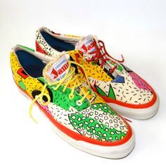 Vtg Authentic 80s CONVERSE JAMS Sneakers Shoes Trainers 11 Skateboard Skidgrip
