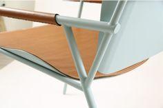 Chaise Ariel inspirée du vélo fixie par Joseph Kan