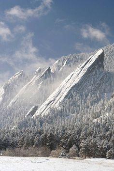 The Flatirons, Boulder, CO