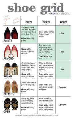 Shoe guide.