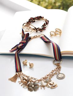 #Charm school. #PrincessVerawang #jewelry #borntorule #Kohls
