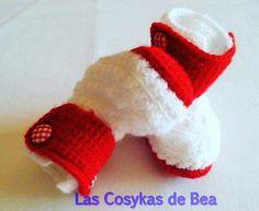 Botas bebe a crochet!!!