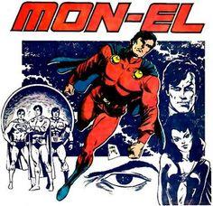 Mon-El of the Legion of Super-Heroes by Steve Lightle.