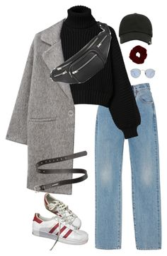 """Untitled #911"" by minhie-inspiration ❤ liked on Polyvore featuring Alix, adidas, Diesel, MANGO, Alexander Wang, Acne Studios and Ray-Ban"