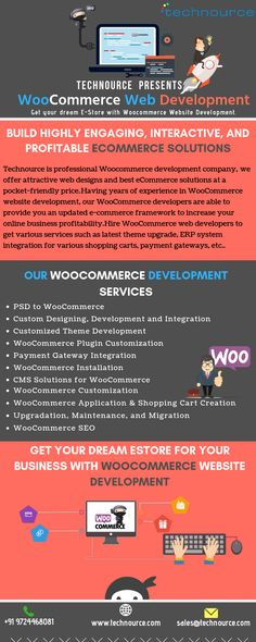 is a professional development company, we offer attractive and best at a pocket-friendly price. WooCommerce to get various services such as latest theme upgrade, ERP system integration for various payment gateways, etc. Ecommerce Solutions, Web Development Company, Call Backs, Web Design Company, Online Business, Shopping Carts, Medical, How To Get, Website