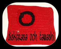 Crochet dish cloth and tawashi  Pattern: my own with inspiration from Pinterest