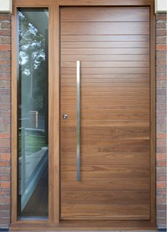 Urban Front - Contemporary front doors UK | finishes c-range | american black walnut