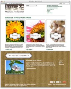 Melanie Shaw Herbal Medicine website  www.melanieshaw.co.uk