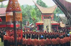 Toraja funeral ceremony. They believed that a person who died without a proper funeral, the deceased person's soul would bring disaster to the relatives of the family he left behind.