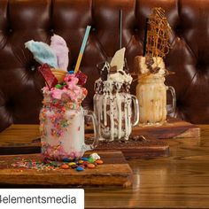 Omg! Feed my soul @craftparkhurst  #Repost @4elementsmedia with @repostapp  LAUNCHING TODAY! CRAFT Parkhursts #FreakShakes!  Unless youve been hiding under a lactose intolerant rock youll have noticed things have gone a bit cray cray in milkshake land.  This might actually be the food trend of 2015 they say and CRAFT Parkhurst now joins in the freakshake frenzie that took the world by storm.  There will be the The Candy Feast which is layered with creamy iced-cream Strawberry Bubble-gum…