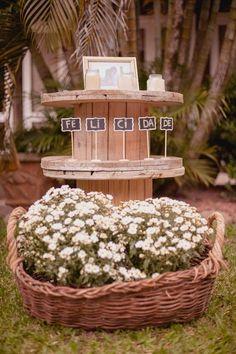 Casamento Rústico feito pelos noivos – Jennifer & Gabriel   Lápis de Noiva